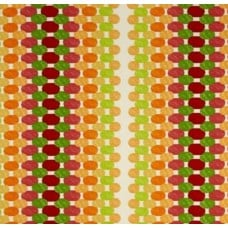 Oval Dots in Citrus Outdoor Fabric Fabric Traders