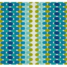 Oval Seaside Dots Outdoor Fabric