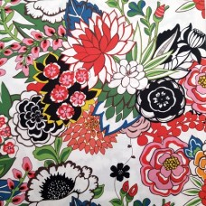 Floral Nat Brite Cotton Fabric by Alexander Henry