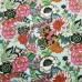 Floral Nat Brite Cotton Fabric in Mint By Alexander Henry Fabric Traders