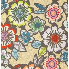Folk Lorico Acapulco Pastel Cotton Fabric by Alexander Henry