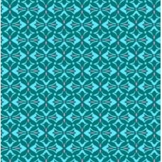 Crossprint in Teal Cotton Fabric by Amy Butler Fabric Traders