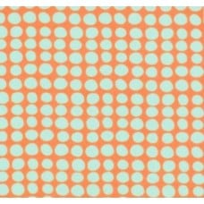 Love Sunspots in Tangerine Cotton Fabric by Amy Butler Fabric Traders