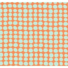Love Sunspots in Tangerine Cotton Fabric by Amy Butler