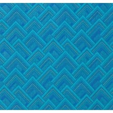 Mighty Corners in Blue Cotton Fabric by Amy Butler Fabric Traders