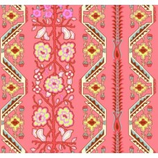 Native Folk in Blush Cotton Fabric by Amy Butler