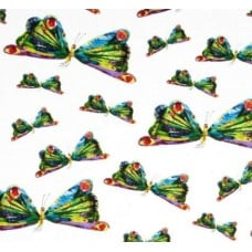 Very Hungry Caterpillar Butterflies Cotton Fabric Fabric Traders
