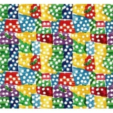 Very Hungry Caterpillar Dots Cotton Fabric