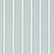 Stripe Blue and Ivory Home Decor Cotton Fabric