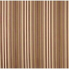 Striped Caramel Cotton Home Decor Fabric