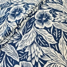 Kula Luxe Home Decor Fabric in Royalty Blue