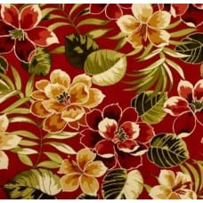 REMNANT - Launderdale Cherry Indoor Outdoor Fabric