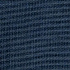 Burlap Fabric in Dark Blue