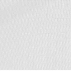 Solid Canvas Outdoor Fabric in White - OFFCUT