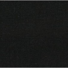 Canvas Brushed Cotton Home Decor Fabric in  Black