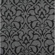 Damask Woven Home Decor Upholstery Fabric in Grey