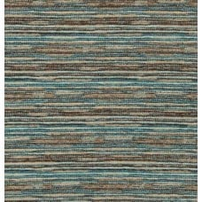 Jacquard Chenille Line in Teal and Tans Home Decor Fabric