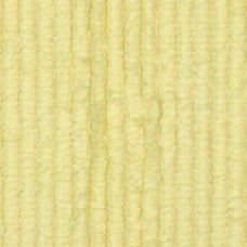 Thick Chenille Fabric in Butter Yellow