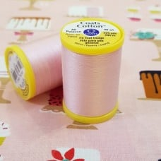 Thread High Quality Mercerised Cotton in Pink by Coats and Clark