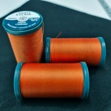 Thread Heavy Duty Outdoor Polyester 182m Tangerine by Coats and Clark