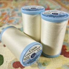 Thread Cotton Covered Quilting and Piecing in Pearl by Coats and Clark  Fabric Traders