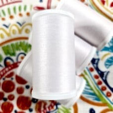 Thread Medium Dual Duty XP Polyester White 457m by Coats and Clark Fabric Traders