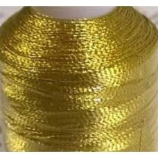 Thread Metallic Fresh Gold 545m by Coats and Clark Fabric Traders