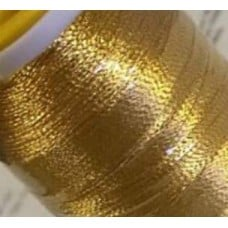 Thread Metallic Gold 545m by Coats and Clark