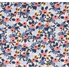 Le Fleurs in Rosa Cotton Fabric