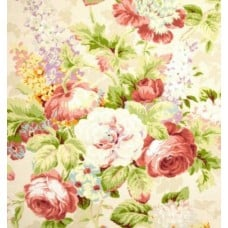 Floral Luxe Bouquet Home Decor Cotton Fabric Fabric Traders