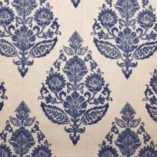 Luxury Lydia in Basketweave Home Decor Fabric in Antique Blue by CovingtonFabric Traders
