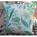 Cushion Cover - Cayo Vista in Jungle Indoor Outdoor Fabric