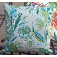 Cushion Cover - Cayo Vista in Jungle Indoor Outdoor Fabric Fabric Traders