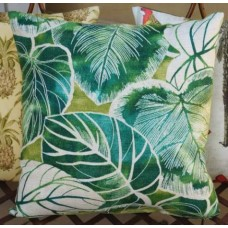 Cushion Cover - Keycove Lagoon Indoor Outdoor Fabric