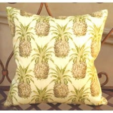 Cushion Cover - Pineapple Indoor Outdoor Fabric