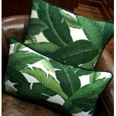 Cushion Covers - Made to Order - Rectangular with Piping Trim Fabric Traders