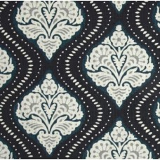 Kavali Ogee Midnight Home Decor Fabrics Fabric Traders