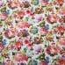 Hummingbirds and Floral Blooms Cotton Fabric Fabric Traders