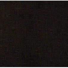 Linen Look Upholstery Polyester Fabric in Black