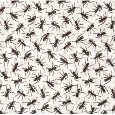 Crazy Ants Allover Cotton Fabric