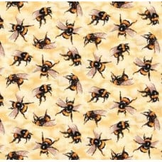 Busy Bees Allover Cotton Fabric