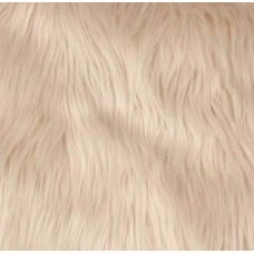 Shaggy Faux Fur in Tan