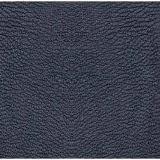 Faux Leather in Gun Metal Blue Grey