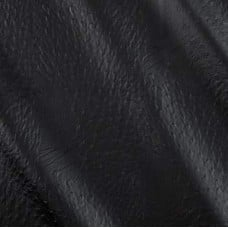 Faux Leather Ostich Nero Fabric