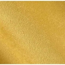 REMNANT - Faux Suede Soft Upholstery Fabric in Yellow Fabric Traders