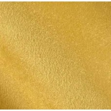 REMNANT - Faux Suede Soft Upholstery Fabric in Yellow