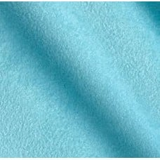 Faux Suede Fabric in Teal Blue