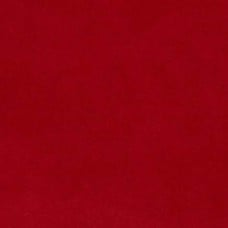 Faux Suede in Rich Red Fabric Traders