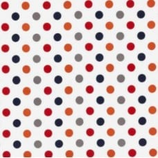 Flannel Dots Cotton Fabric in Rainbow by Riley Blake Designs Fabric Traders