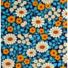 Fields Forever in Midnight Cotton Fabric by Heather Bailey